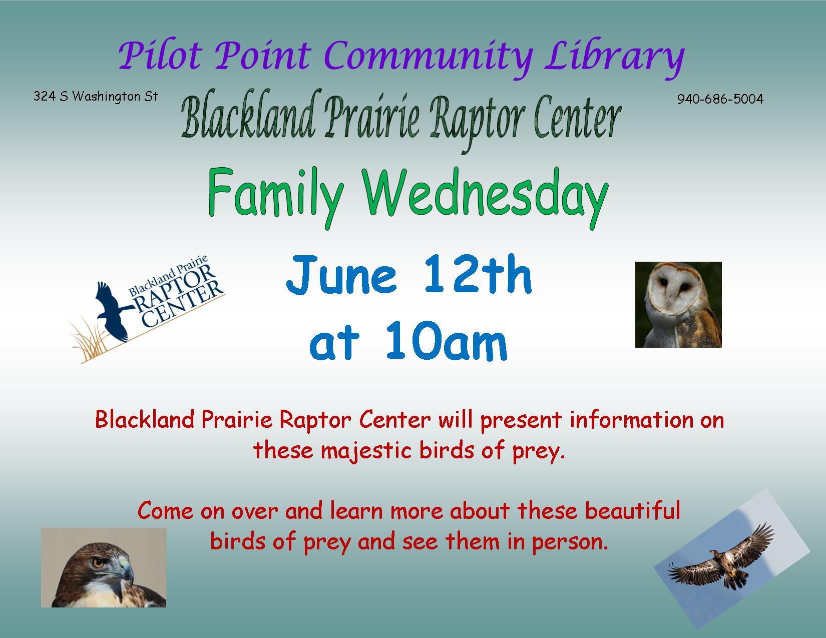 2019 Black Prairie Lands Birds of Prey